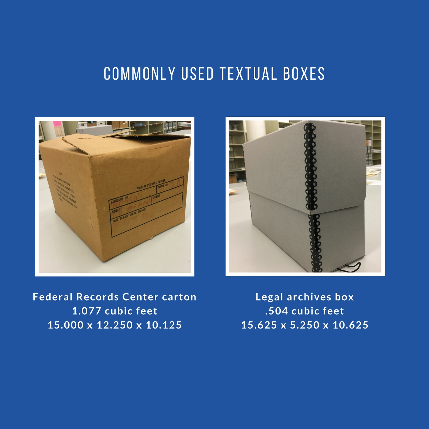 commonly used boxes