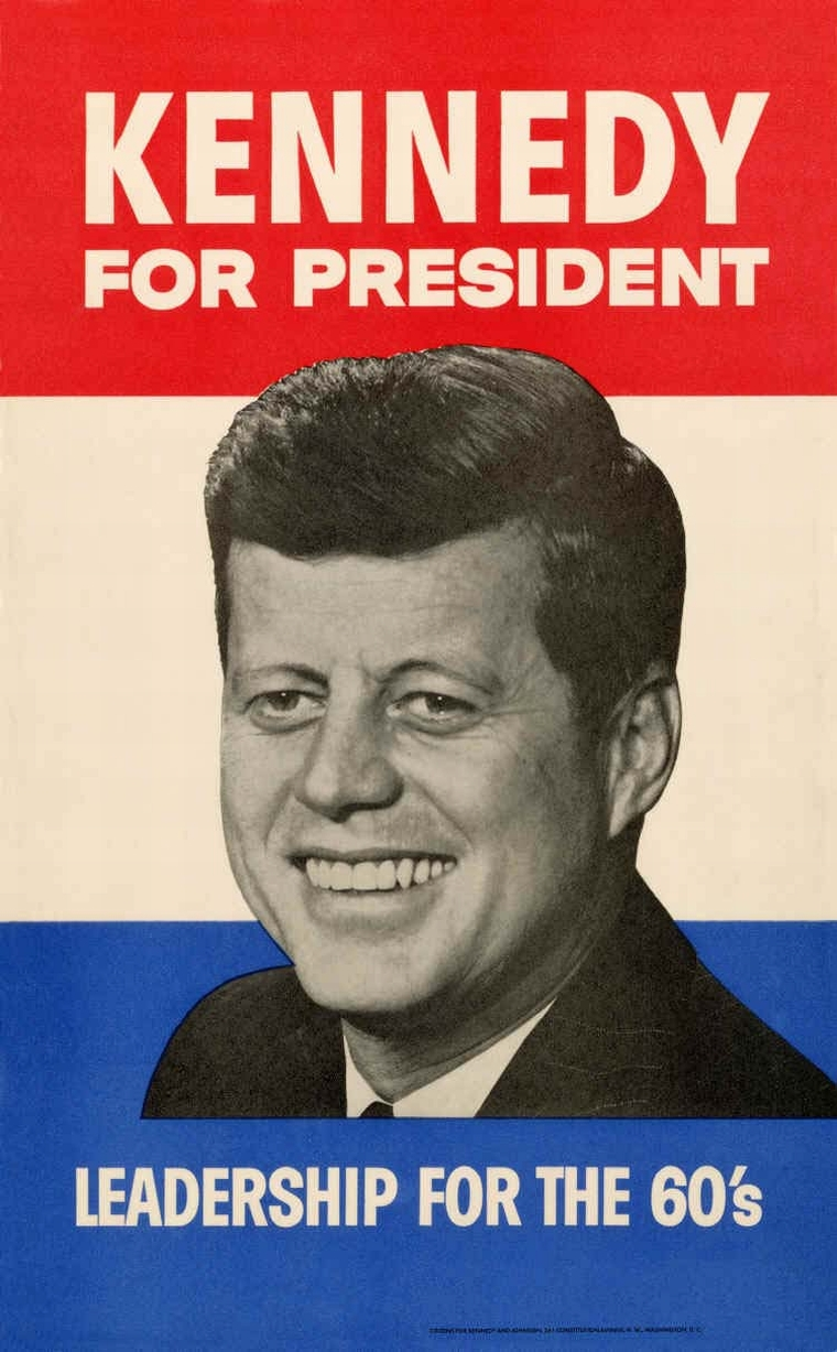 MO95-77 Leadership for the 60s campaign poster